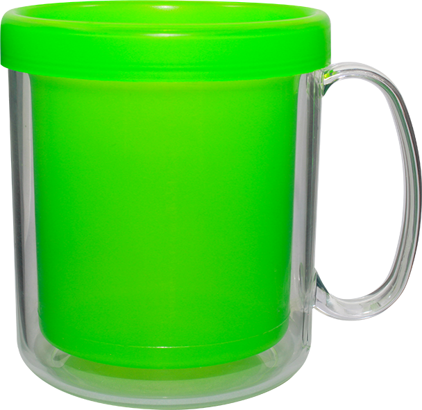 Imagem de Caneca Térmica Cristal Color 300ml