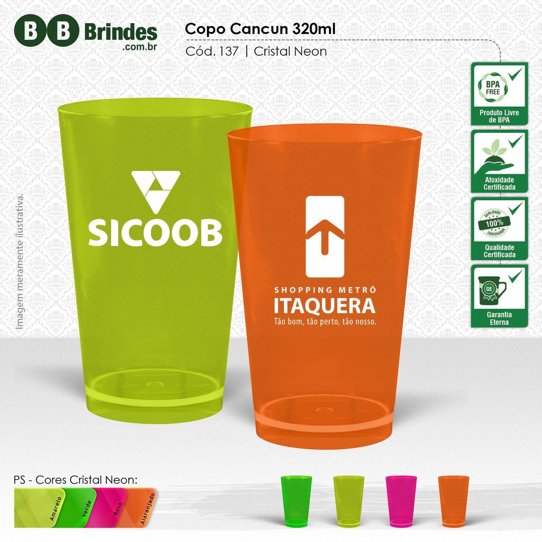 Imagem de Copo Cancun Cristal