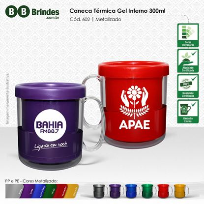 Imagem de Caneca Térmica Gel 300mL