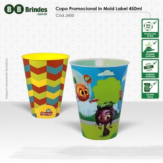 Imagem de Copo Promocional in Mold Label 450mL